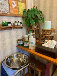 手洗い&消毒